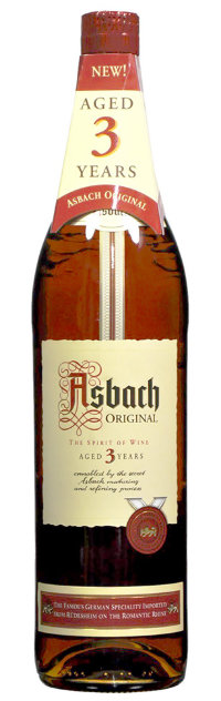 Бренди  Асбах 3 года. 0,7 cl Brandy Asbach Original 3 Year Old