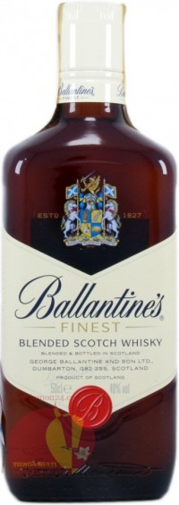Виски Баллантайнс Файнест 0,7, 40% Whisky Ballantine's Finest Шотландия