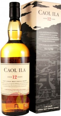 Виски Каол Айла 12 лет, 0,75мл, 43% Whiskey Caol Ila 12 y.o. Шотландия