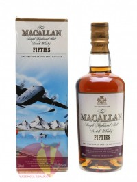 Виски Макаллан Фифти Тревел Сириес 0,5л, 40% Whiskey Macallan Fifties Travel Series 50 cl Шотландия
