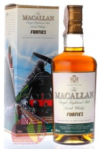 Виски Макаллан Фоти Тревел Сириес 0,5л, 40% Whiskey Macallan Forties Travel Series 50 cl Шотландия