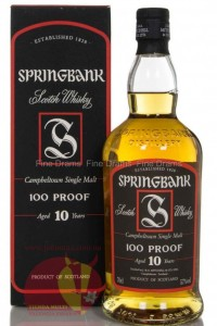 Виски Спрингбанк 10 лет, Whisky Springbank Campbeltown, 0.7 л 46% Шотландия