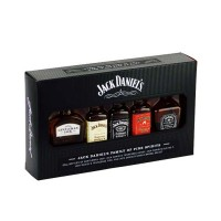 Виски Джек Дэниэлс набор миниатюр, 5х50гр. 50% Jack Daniel's Family of Fine Spirits