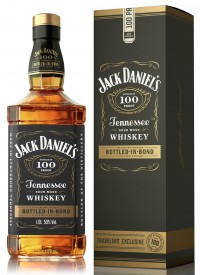 Виски Джек Дэниэлс 100 PROOF, 1 л. 50% Jack Daniel's 100 PROOF Bottled-In-Bond